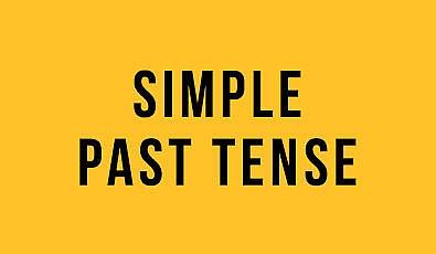 Simple Past Tense (Geçmiş Zaman) : İngilizce Türkçe Detaylı Konu Anlatımı