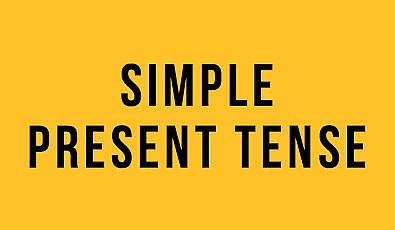 Simple Present Tense (Geniş Zaman) : İngilizce Türkçe Detaylı Konu Anlatımı