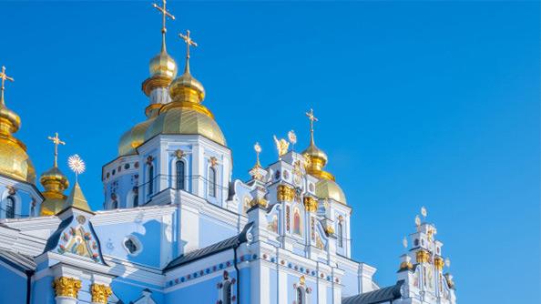 Aziz Michael'in Altın Kubbeli Manastırı