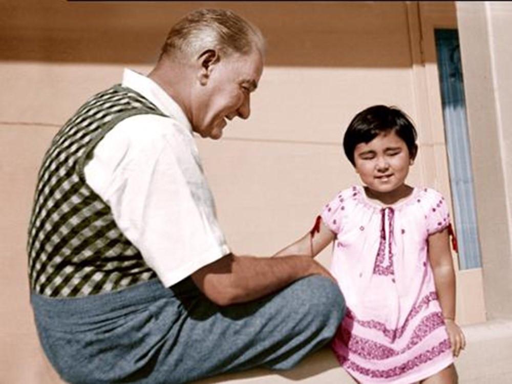 Mustafa Kemal Atatürk ve Kızı