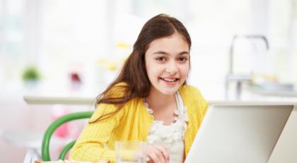 little girl laptop
