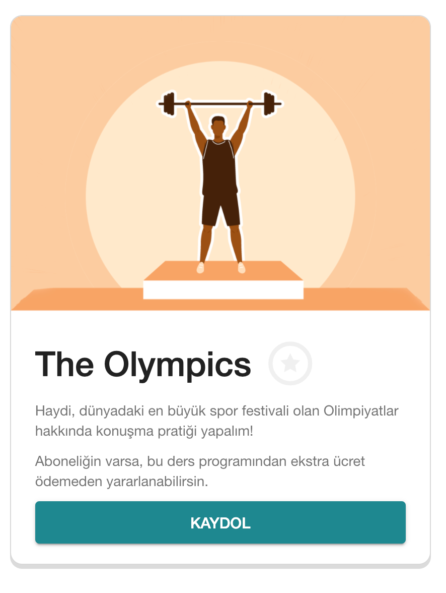 cambly olympics lesson plan