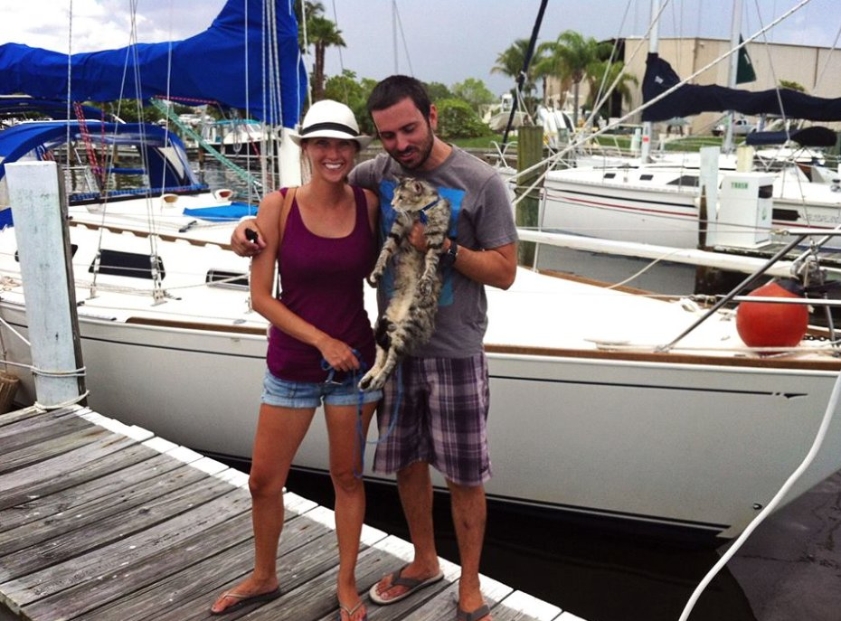 but-this-seafaring-cat-can-swim-when-the-couple-traveled-to-the-grand-cayman-georgie-jumped-overboard-swam-around-the-boat-and-climbed-up-the-back
