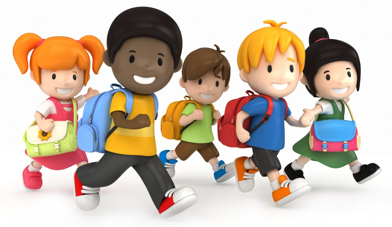 Image result for kids going to school
